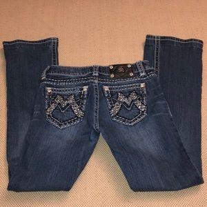 Miss Me Signature Boot Cut Medium Wash Jeans